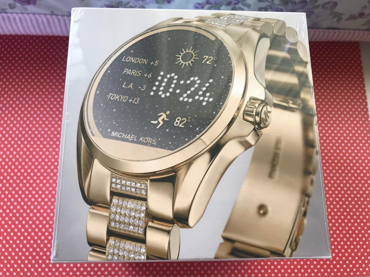 c0eafe74287d0 relogio michael kors access smartwatch mkt5002 goldtone. Carregando zoom.