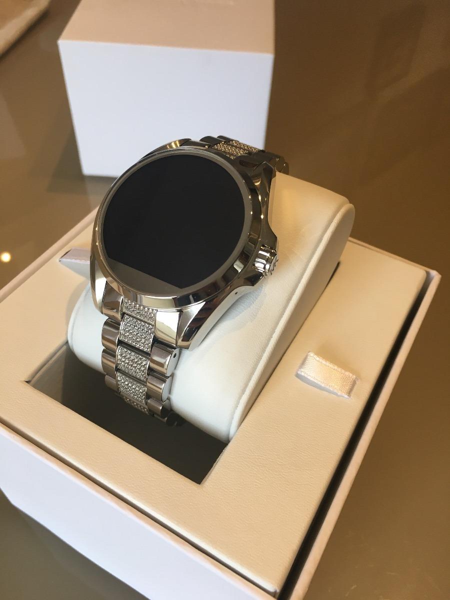 d913c6df03a97 relógio michael kors access touch smartwatch com cristais. Carregando zoom.