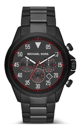 relógio michael kors aço preto - mk8332/1pi
