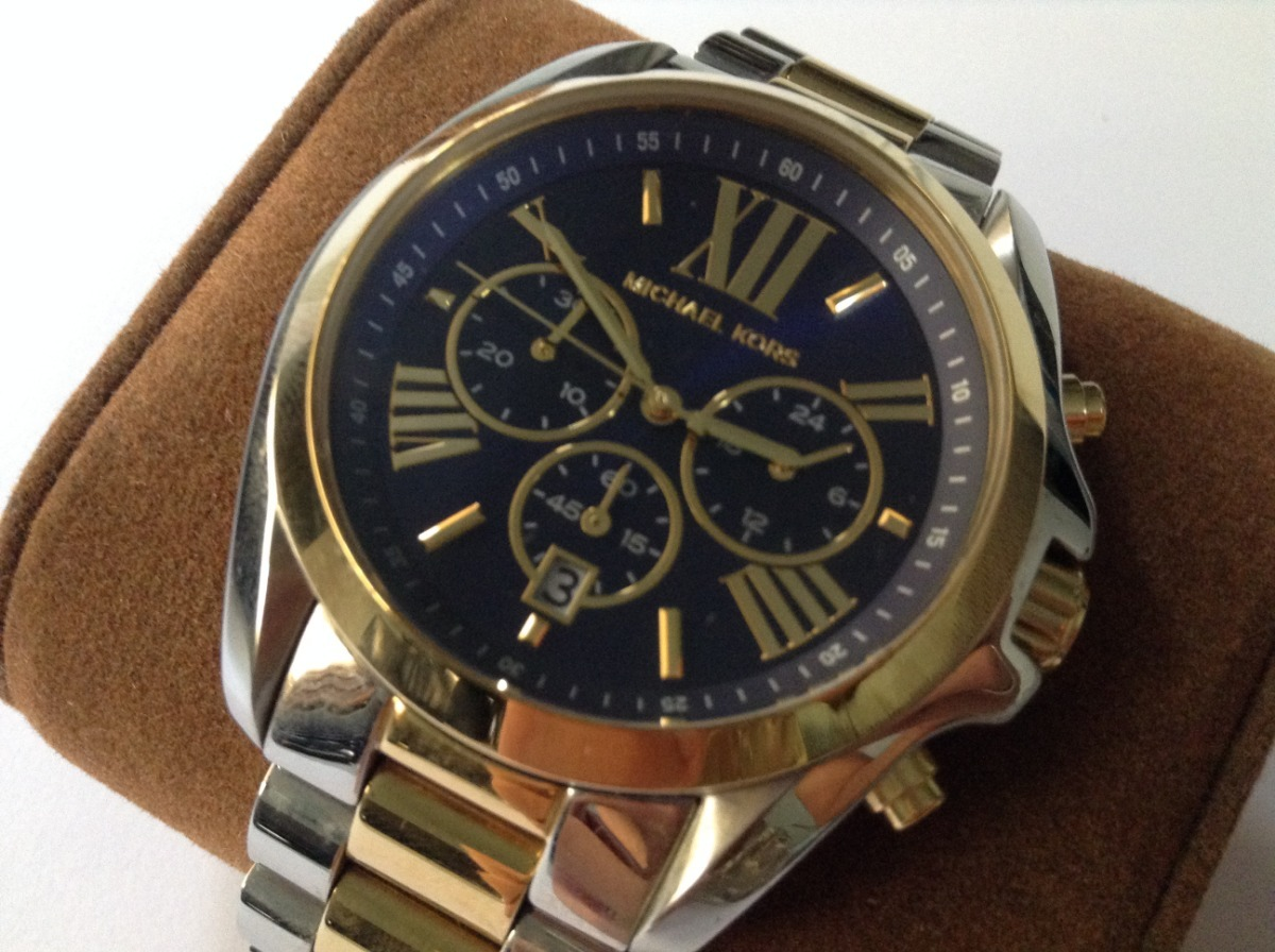 Relógio Michael Kors Analógico - Mk5976 5an - Dourado prata - R  550 ... 0787e3802d
