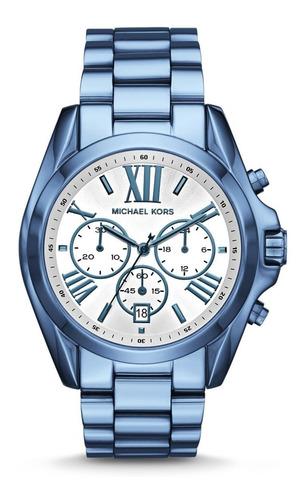 relógio michael kors azul - mk6488/4kn