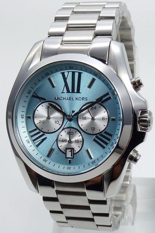 a53877fe65d6f Relógio Michael Kors Bradshaw Mk6099 Original Prata Caixa - R ...