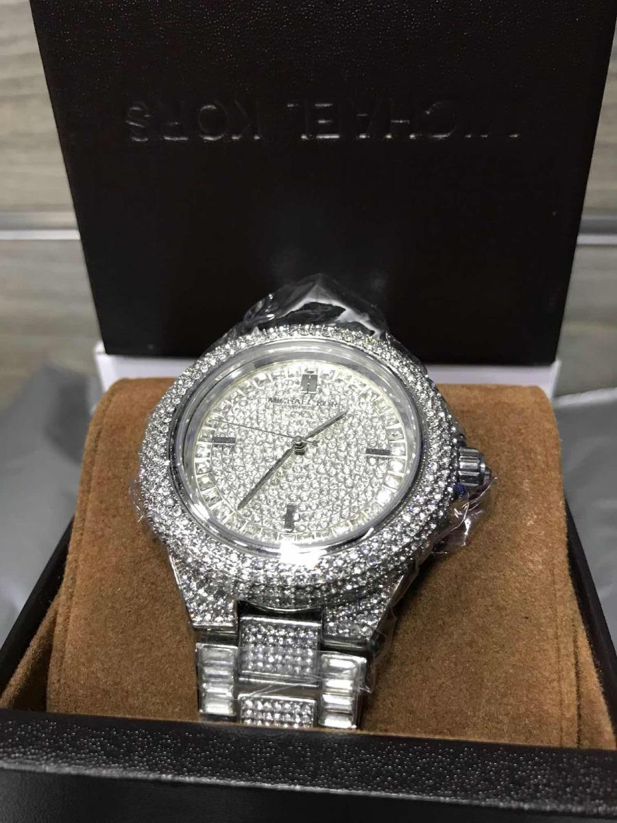 d56dbfad66839 Relógio Michael Kors Cravejado Unissex Mk5869 - R  949,99 em Mercado ...