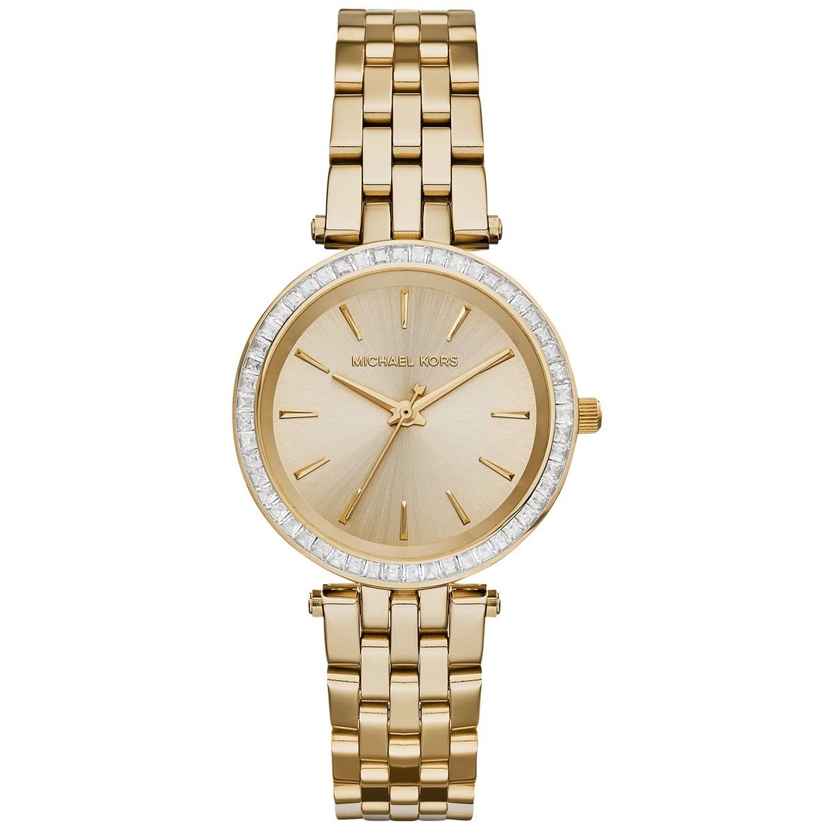 fd8d346a976e3 relógio michael kors darci dourado analógico feminino mk3365. Carregando  zoom.