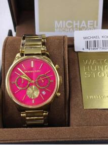 a3e8ea397 Relógio Michael Kors (réplica) Fundo Rosa - Relógios no Mercado ...