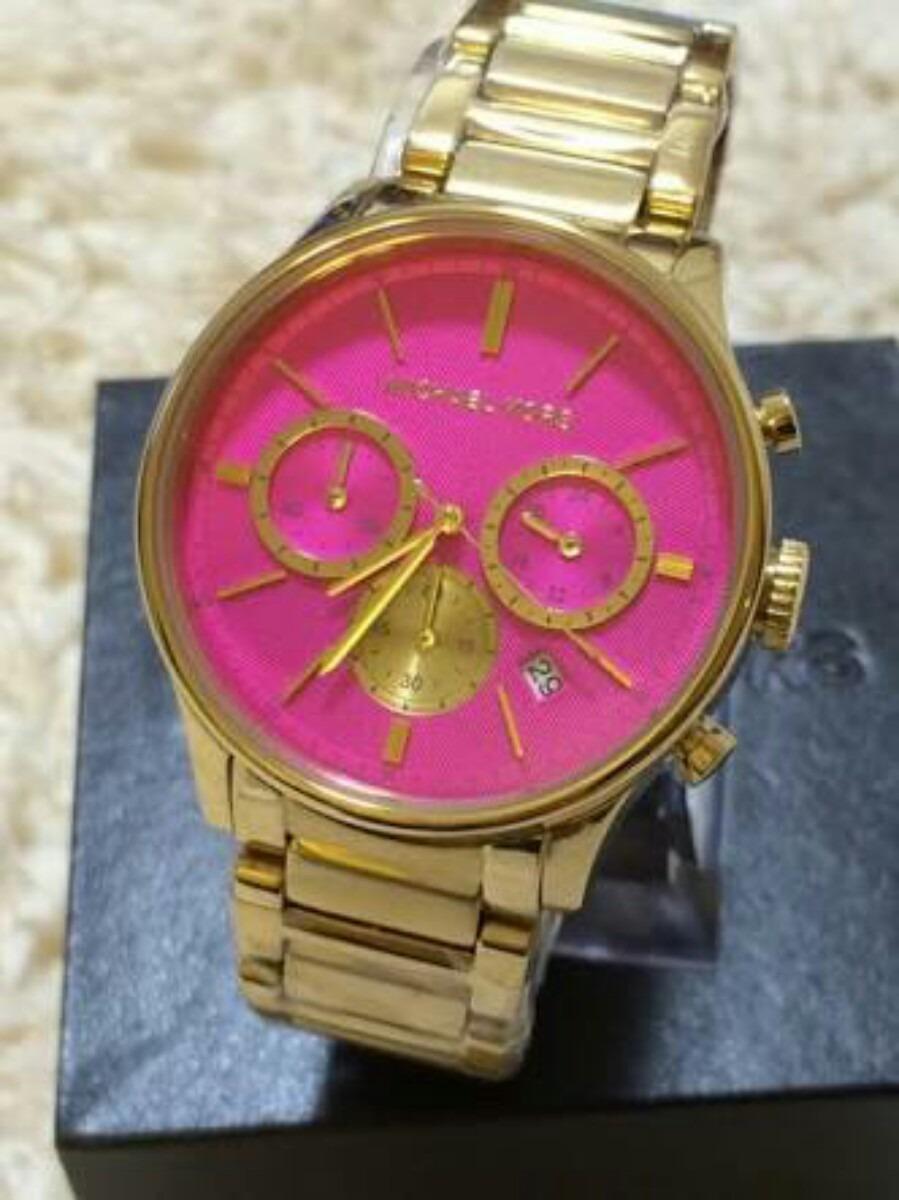 fdf5483909d3a Relógio Michael Kors Dourado Mk5909 Original - R  429,99 em Mercado ...