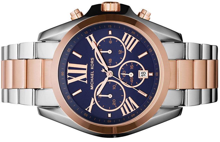 7cebdfd458e relógio michael kors mk5606 feminino prata azul rose e caixa · relógio  michael kors feminino. Carregando zoom.