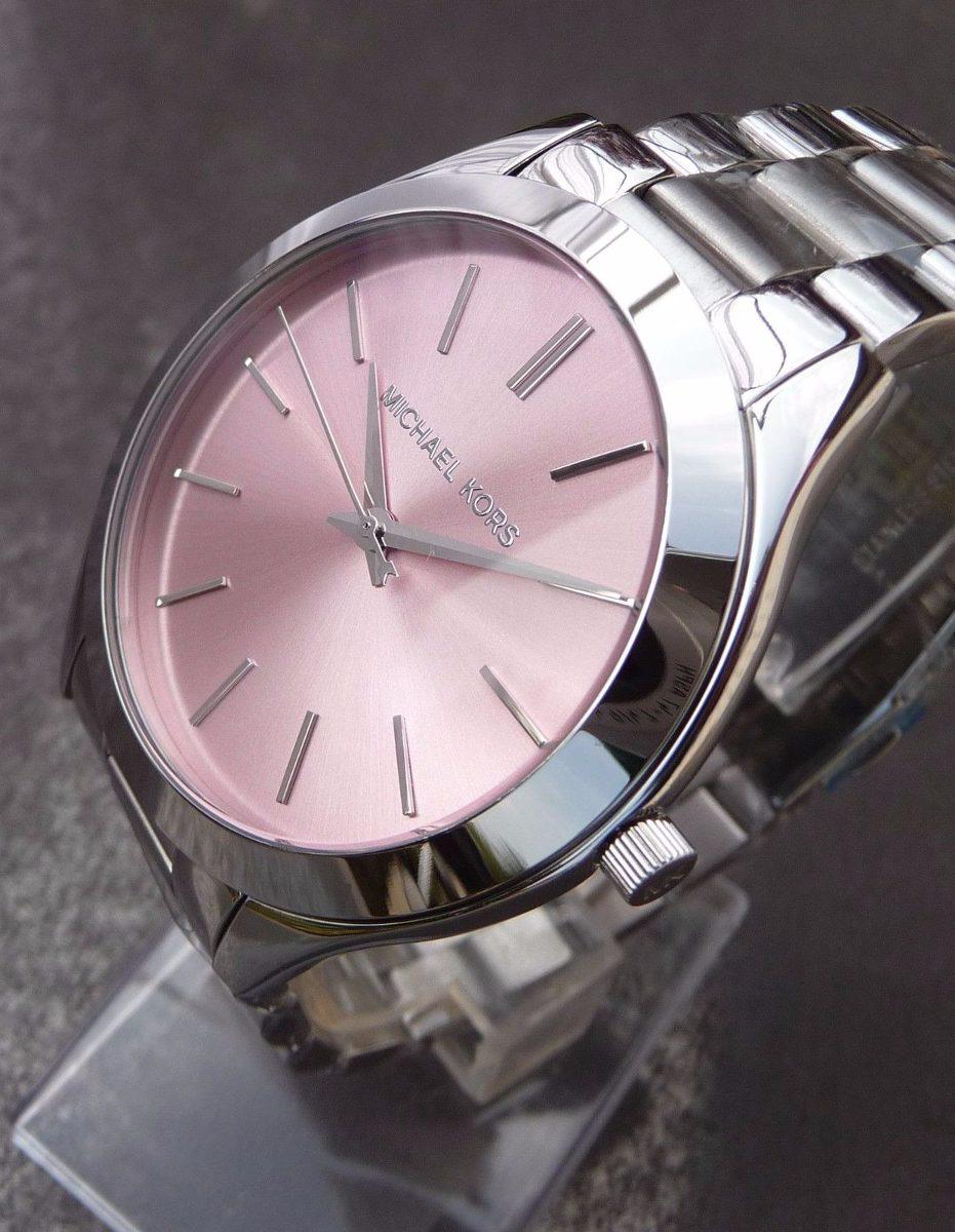 503a2e3e674 Carregando zoom... kors feminino relógio michael. Carregando zoom... relógio  michael kors mk3380 feminino original prata rosa top