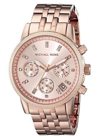 f0615a2e1275d Relógio Michael Kors Feminino Mk 6077 - R  479