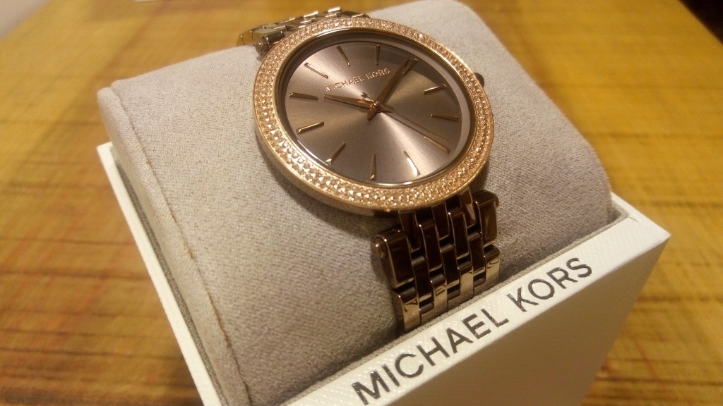 e3850f3a9062b Relógio Michael Kors Feminino Mk3416 - R  1.079,10 em Mercado Livre
