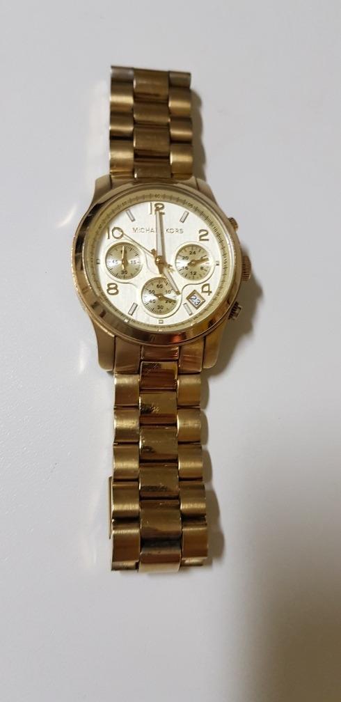 c8661076477bb relógio michael kors feminino mk5055 original usado. Carregando zoom.