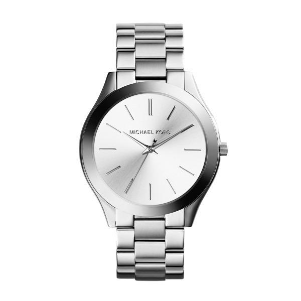 75c9a3287057c Relógio Michael Kors Feminino Todo Em Aço Prata Mk3178 1kn - R  889 ...