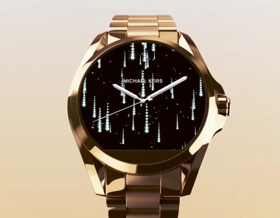 b9890868ab081 relógio michael kors gold dourado smartwatch - pta entrega. Carregando zoom.