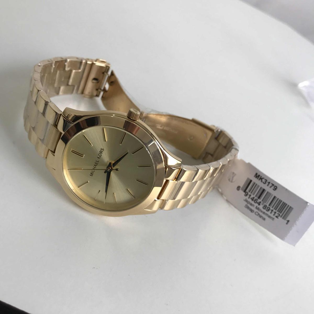 78d38db690b1d relógio michael kors mk-3179 dourado. Carregando zoom.