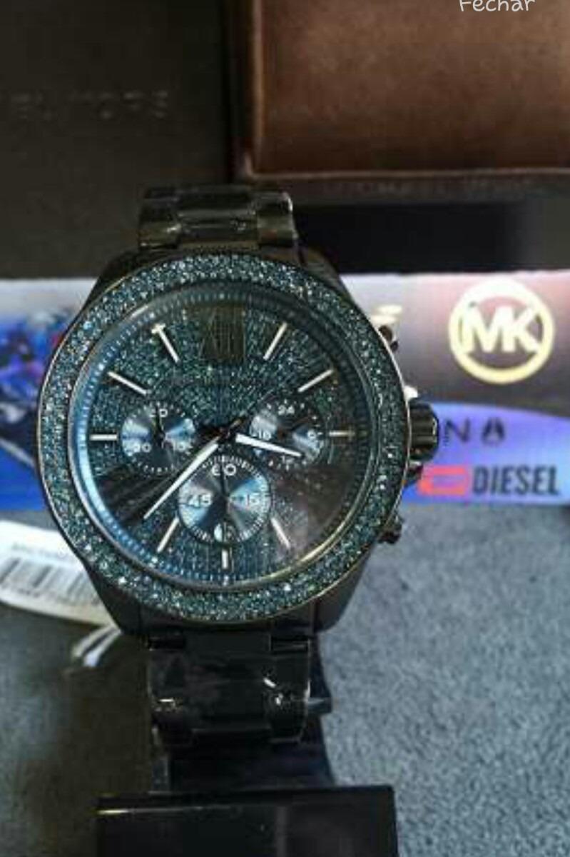 Relógio Michael Kors Mk 6097 Original - R  750,00 em Mercado Livre 23bac857f1
