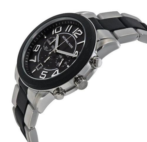 relógio michael kors mk 8321 completo cronografo com caixa