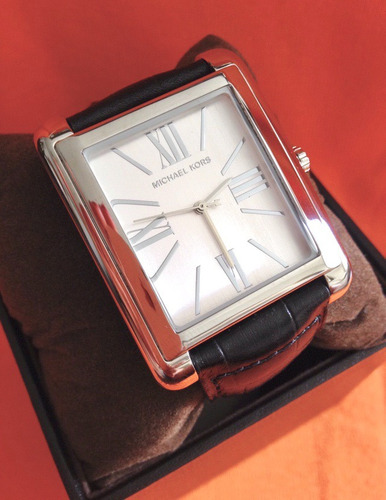 relógio michael kors mk2242 ps.couro original novo promoção