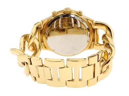 relógio michael kors mk3131 orig chron gold