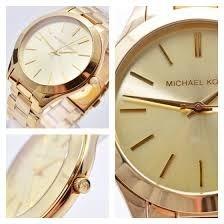 4a5c81244816b Relógio Michael Kors Mk3179 Dourado Slim 5 Anos Garantia - R ...