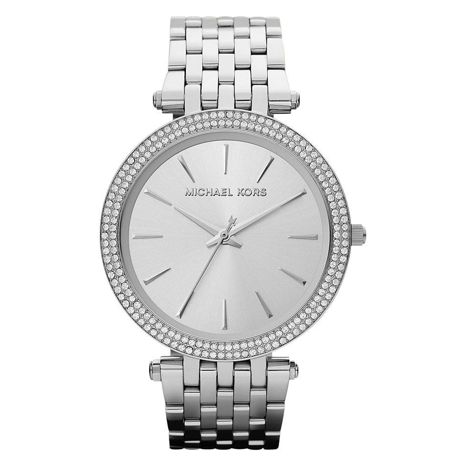 Relógio Michael Kors Mk3190 Feminino Darci Prata Slim 40mm - R  1.499,99 em  Mercado Livre c05a6b6a37