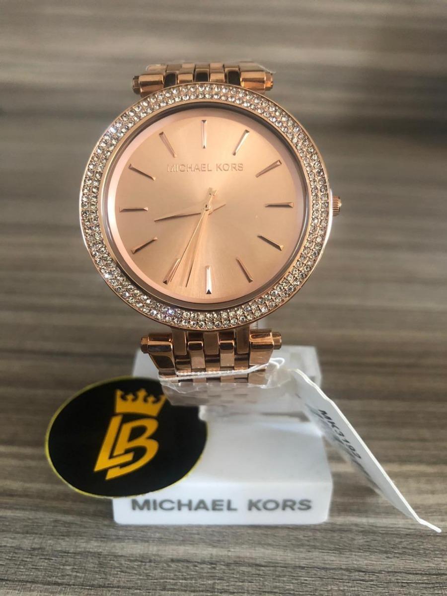 a56bc10175492 Relógio Michael Kors Mk3192 Darci Rose Slim