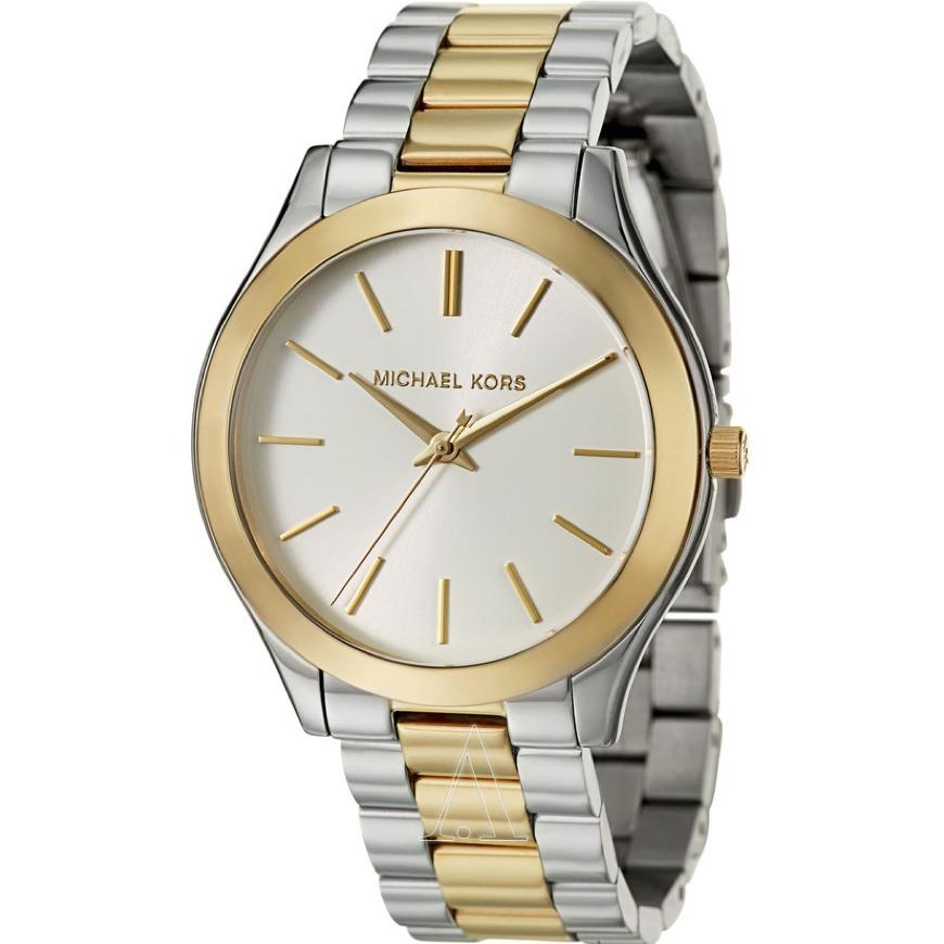 Relógio Michael Kors Mk3198 Slim Runway Dourado Rose Misto - R  879,00 em  Mercado Livre 23e0116203