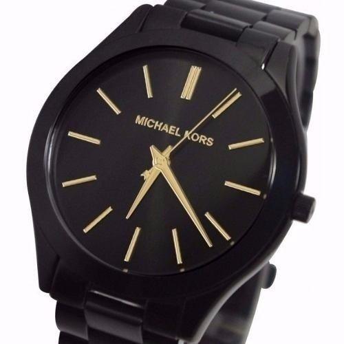 Relógio Michael Kors Mk3221 Preto Slim Original Garantia - R  358,00 em  Mercado Livre 94c8053f61