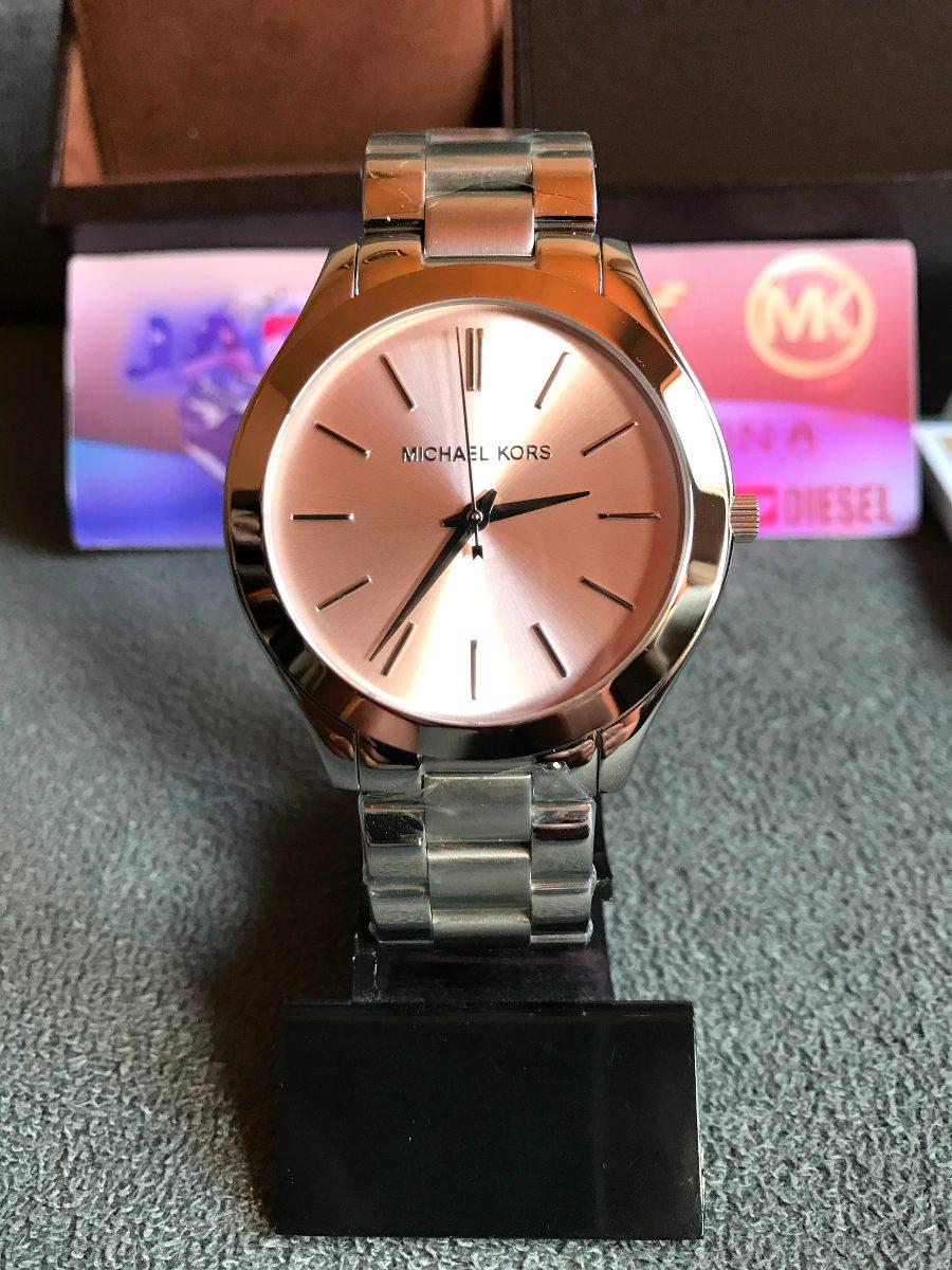 184b7b028ee relógio michael kors mk3380 prata original completo c  caixa. Carregando  zoom.