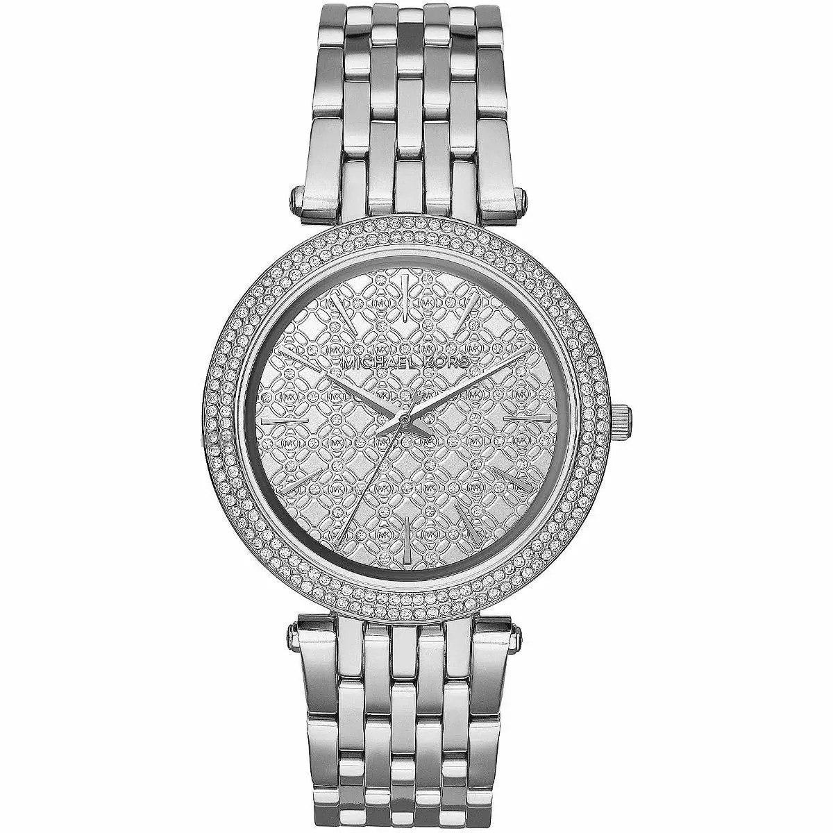 relógio michael kors mk3404 darci prata cristal lançamento. Carregando zoom. ea923ea3cb