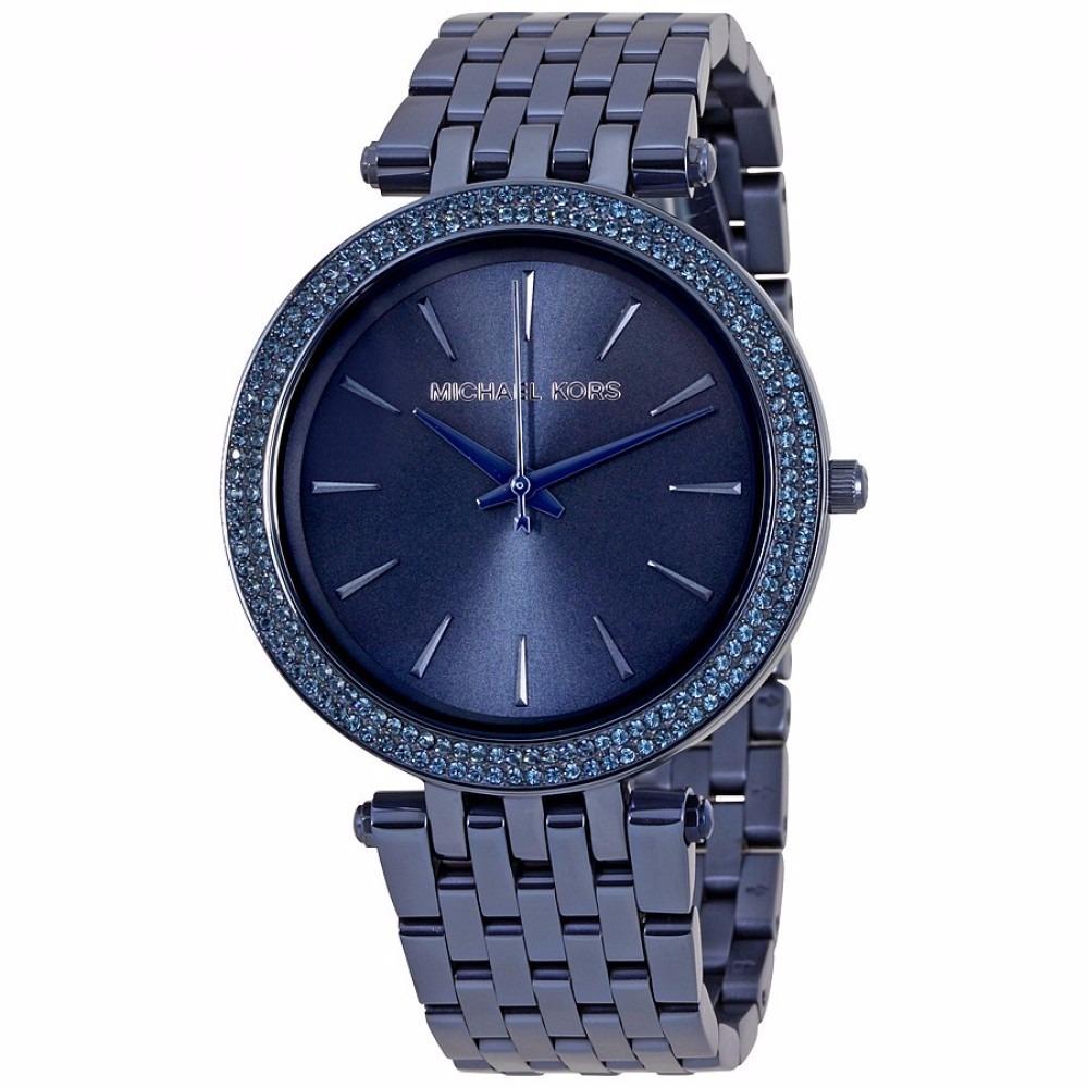 relógio michael kors mk3417 darci azul caixa original 39mm. Carregando zoom. 6b441831f3