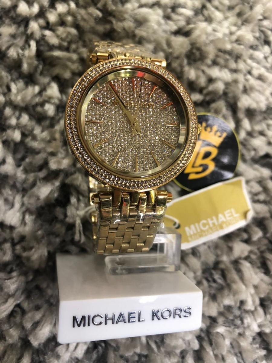 56199cad1acd7 Relógio Michael Kors Mk3438 Dourado