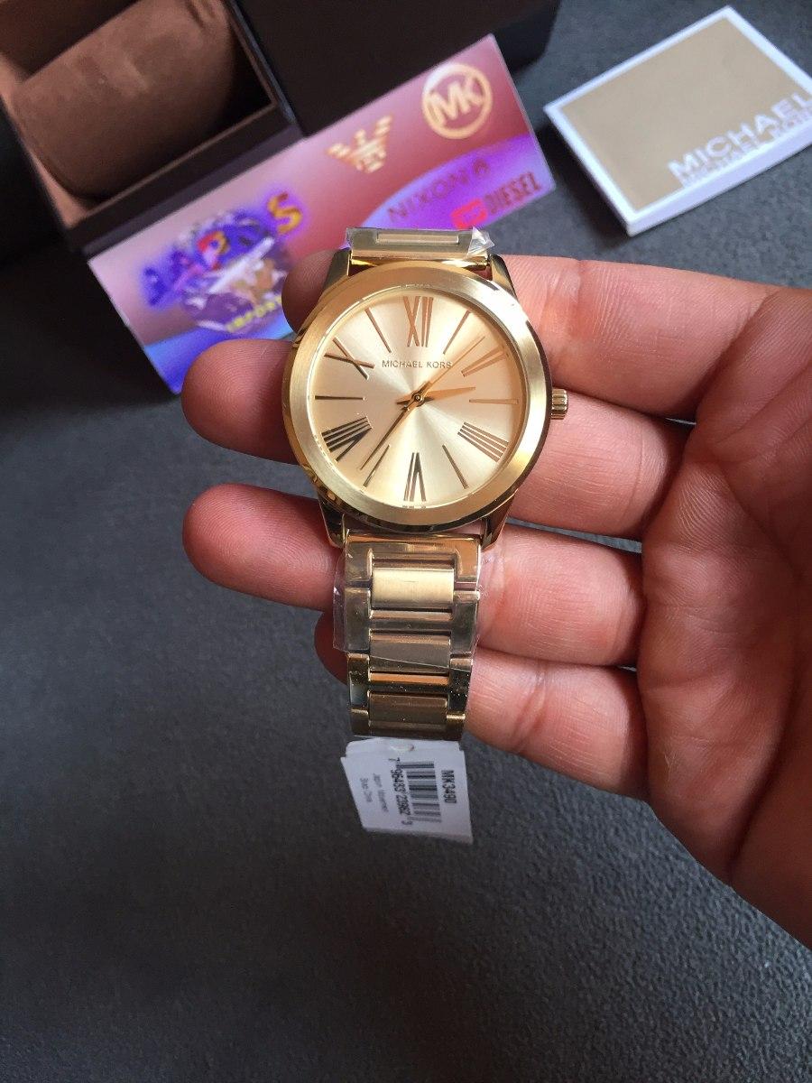 439414054fb8c Relógio Michael Kors Mk3490 Gold 100% Original 12x S  Juro - R  419 ...