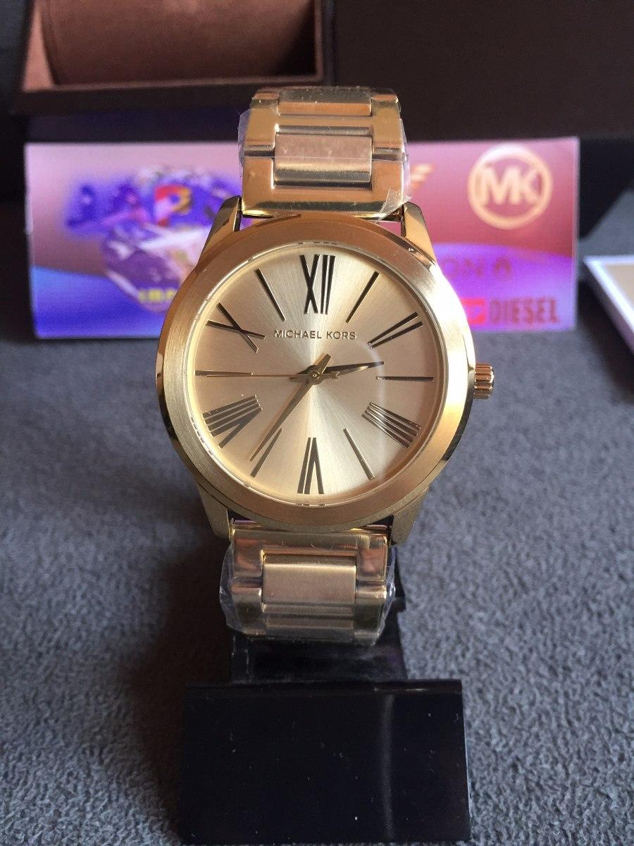 d5ff5ae5fc1d1 relógio michael kors mk3490 gold 100% original 12x s  juros. Carregando  zoom.