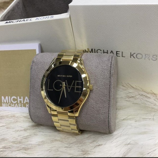 Relógio Michael Kors Mk3803 Love Feminino Garantia 5 Anos - R  297,99 em  Mercado Livre ac133f52d2