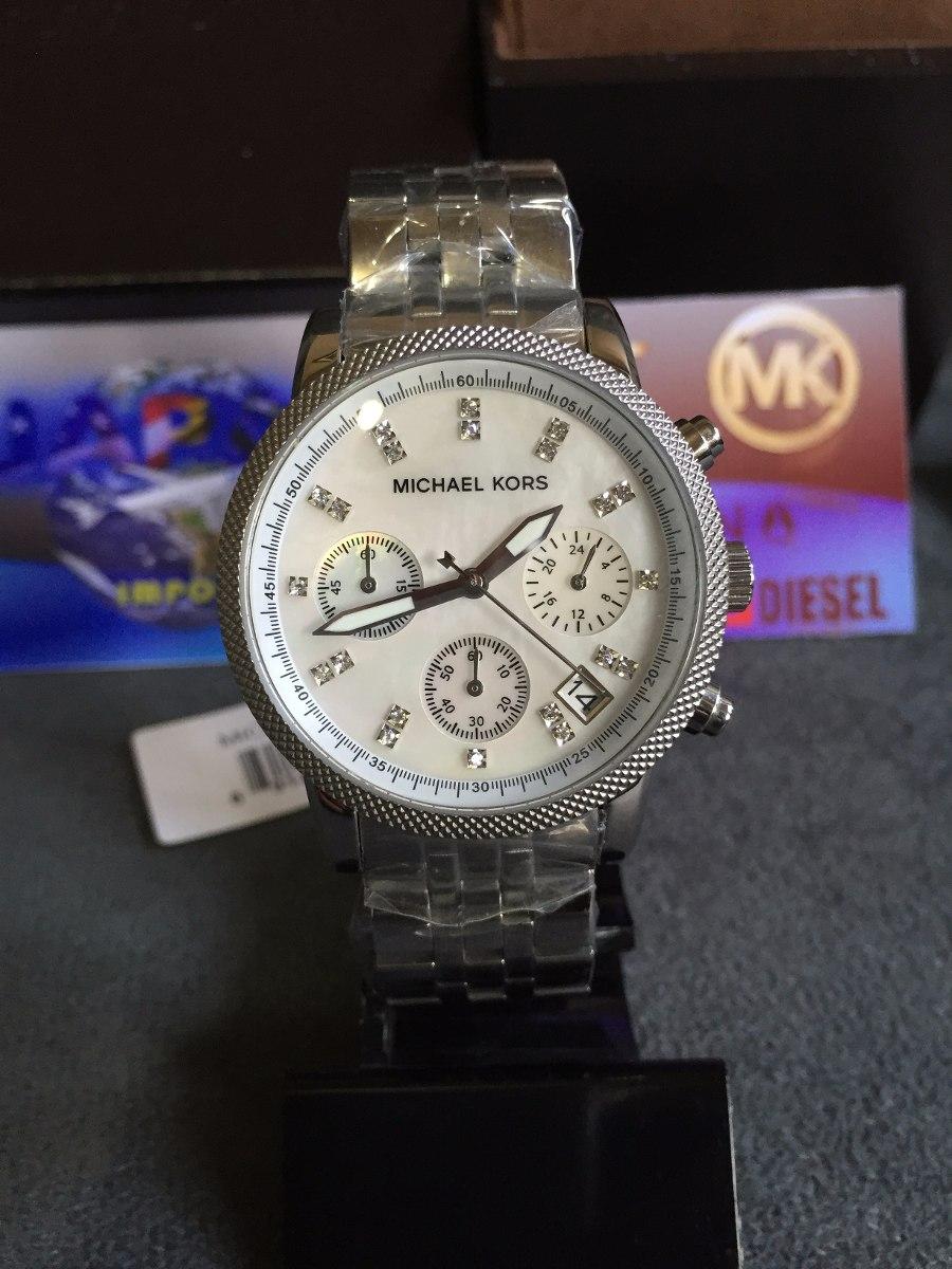 relogio michael kors mk5020 prata 100% original 12x s  juros. Carregando  zoom. 8dc3153b71