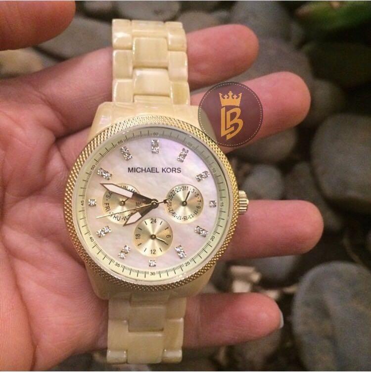 2a3395978e8 Relógio Michael Kors Mk5039 Madrepérola Original Com Caixa - R  796 ...