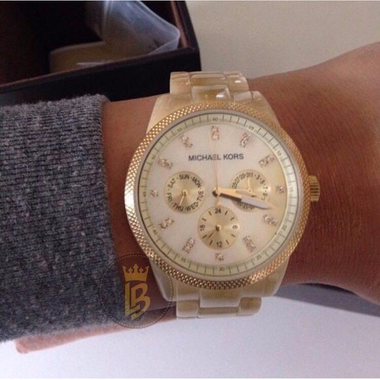 3b36a2e296c Relógio Michael Kors Mk5039 Madrepérola Original E Importado - R  709