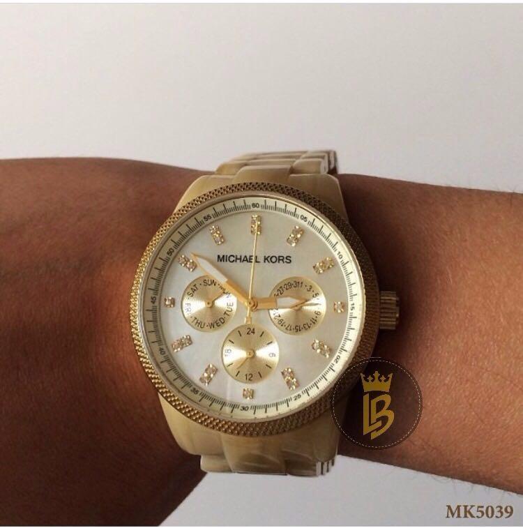 b18c932e17c Relógio Michael Kors Mk5039 Original Madrepérola C  Garantia - R  795