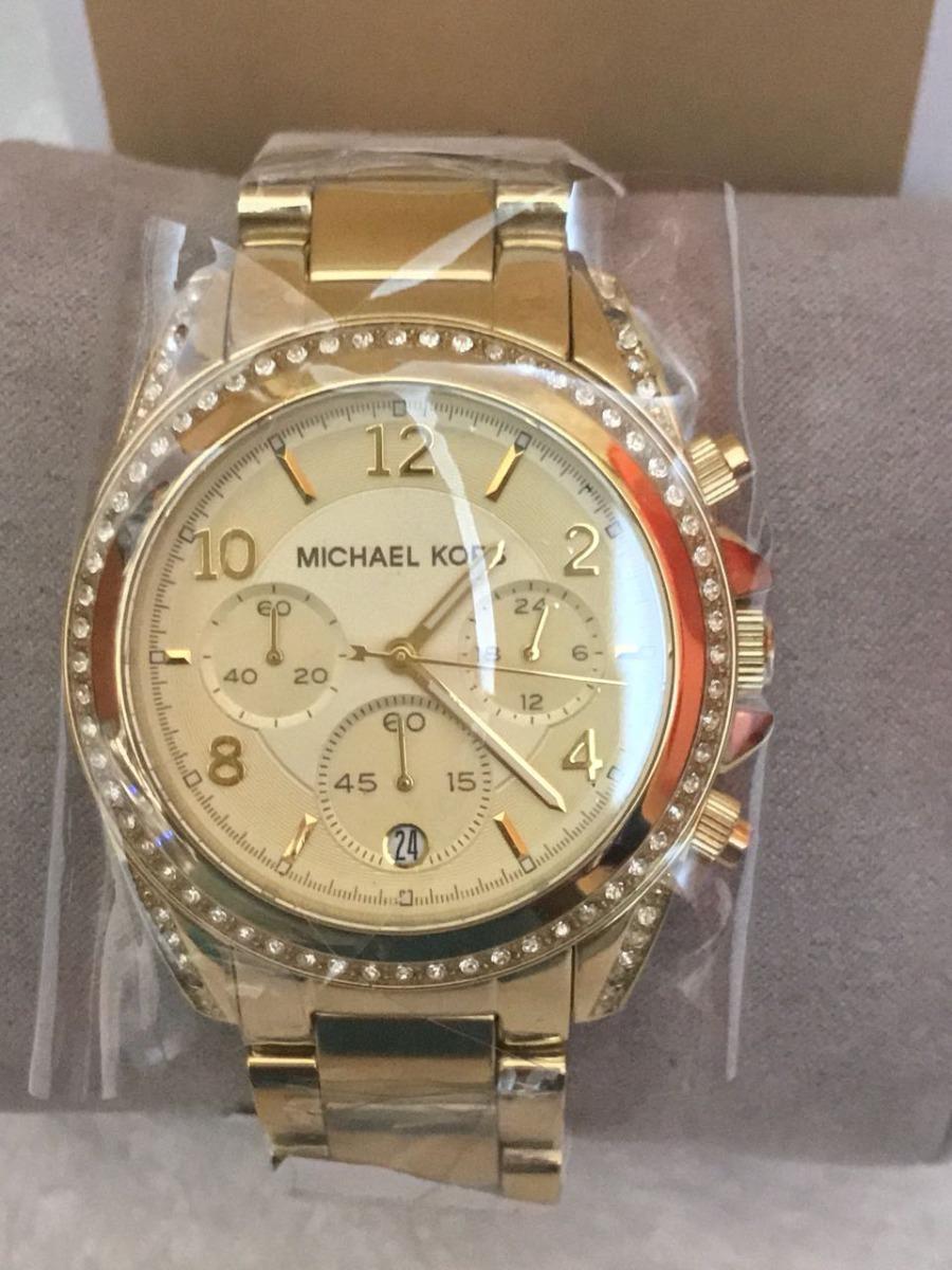 63adb43c12c relógio michael kors mk5166 dourado feminino original. Carregando zoom.