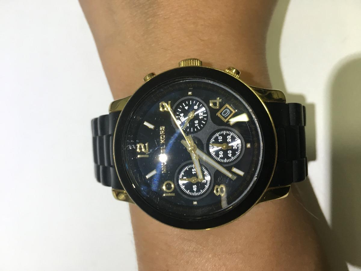 3ee45cf8727 relógio michael kors mk5191 - preto e dourado. Carregando zoom.