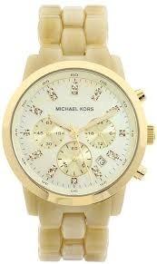 6b206634fc567 Relógio Michael Kors Mk5217 Madreperola Dourado Original Eua - R ...
