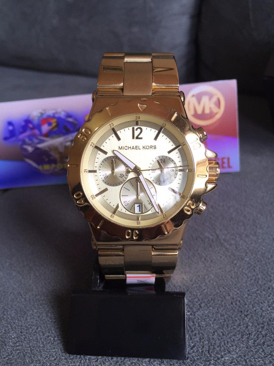 dd022f0fbca relogio michael kors mk5313 dourado catraca lindo original. Carregando zoom.