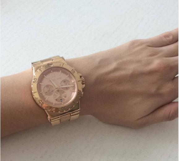 a2a36681f Relógio Michael Kors Mk5314 Rose Gold Original - R  550