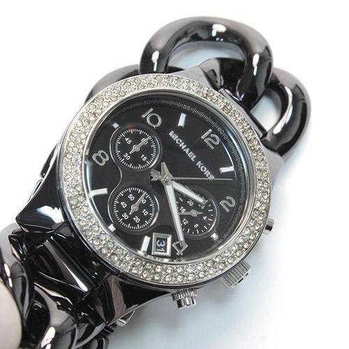 relógio michael kors mk5388 orig chron anal cerâmico!!!