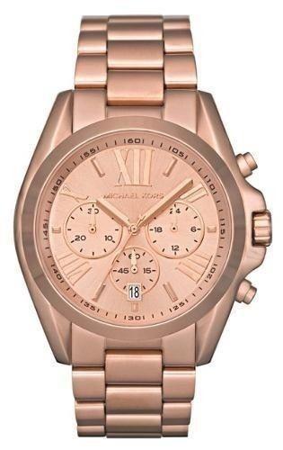 05731f059ef27 Relógio Michael Kors Mk5503 Bradshaw Rose Original - R  989,00 em ...
