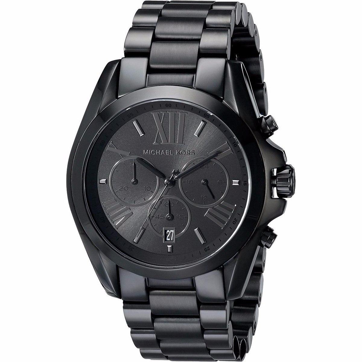 562c1285fc9 relógio michael kors mk5550 preto caixa original e garantia. Carregando  zoom.