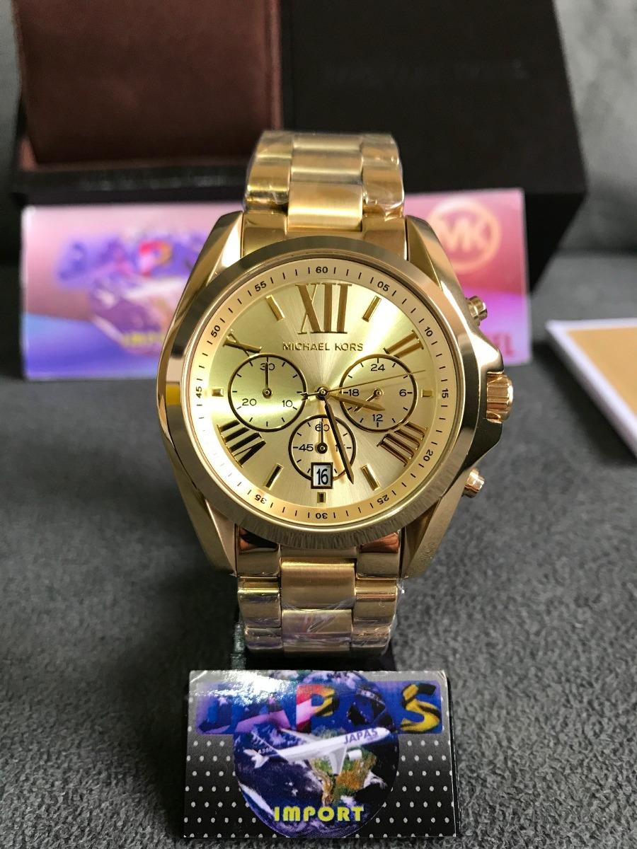 relogio michael kors mk5605 gold original completo c  caixa. Carregando  zoom. d734c38105