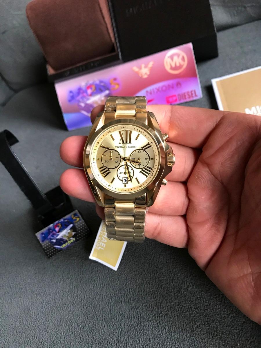 825e320ba relogio michael kors mk5605 gold original completo c/ caixa. Carregando  zoom.