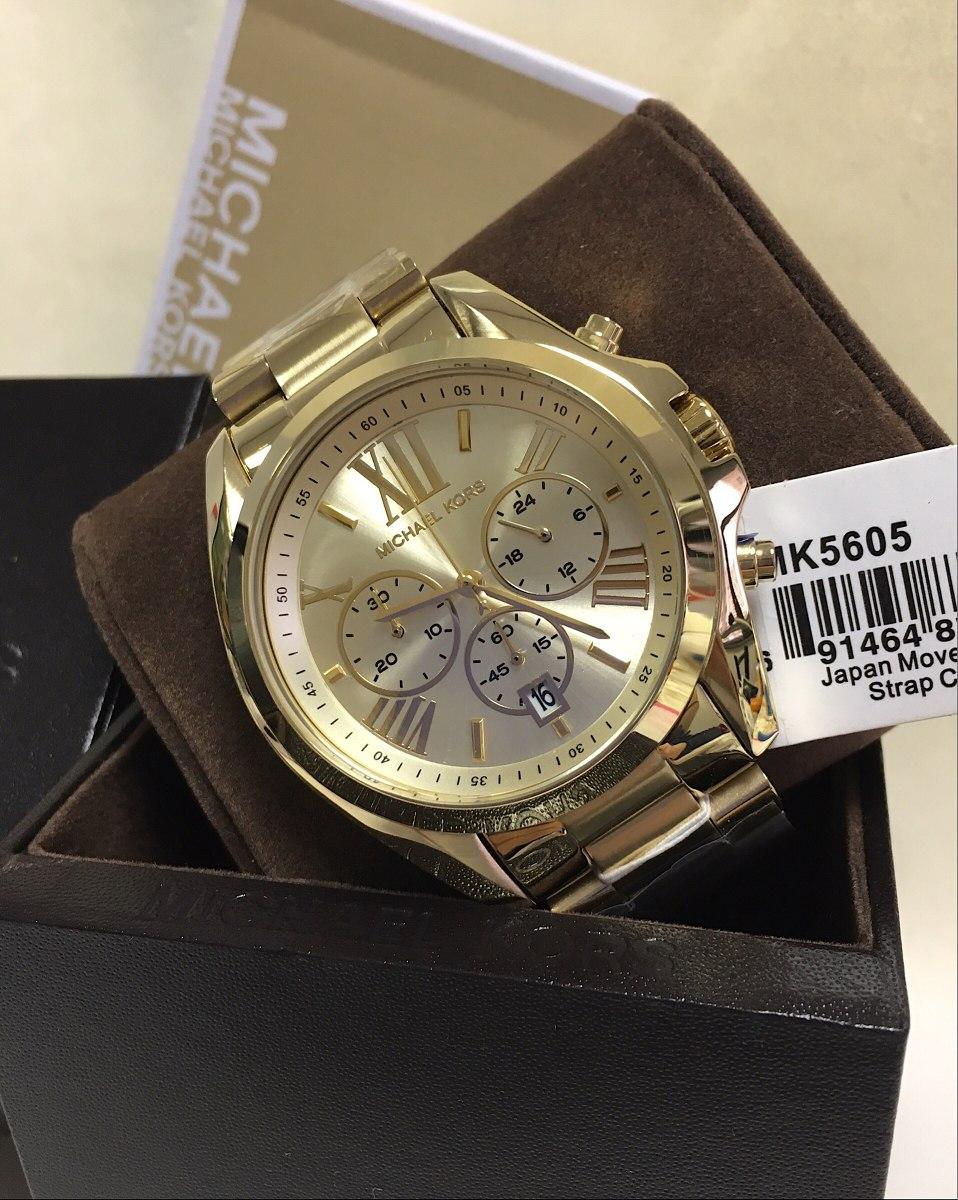 e0268486ccc9e Relógio Michael Kors Mk5605 Original Com Caixa