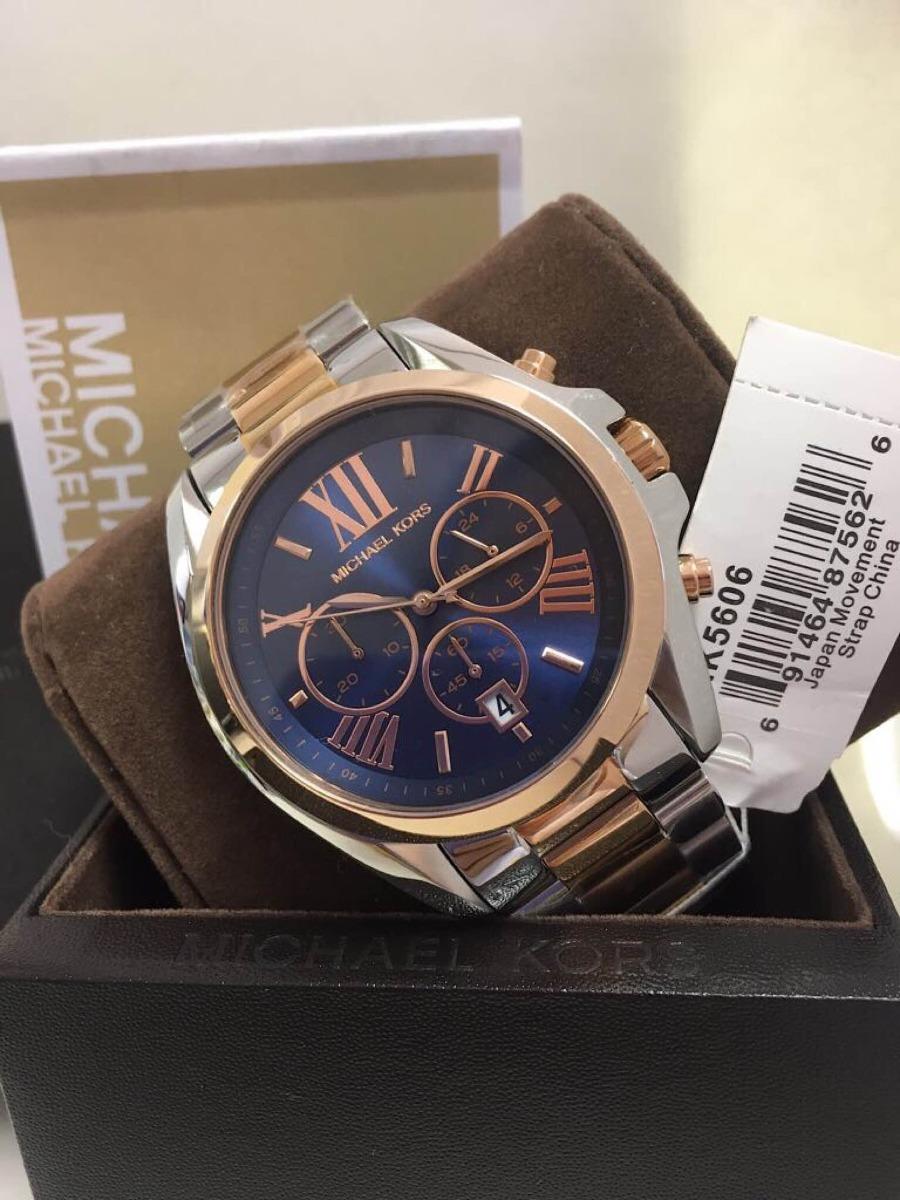 20533b76c70 relógio michael kors mk5606 misto+ caixa e manual. Carregando zoom.